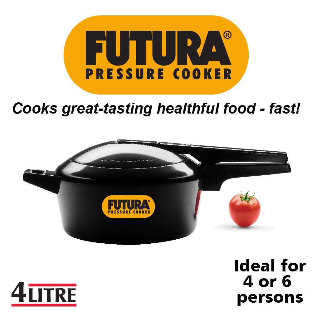 Hawkins F45 Pressure Cooker, 4 Litre, Black
