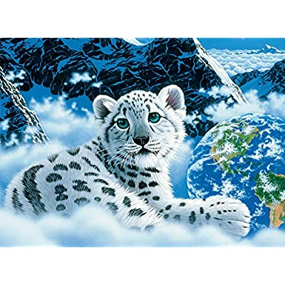 Ceaco Schimmel Glow-in-The Dark Bed of Clouds Jigsaw Puzzle: Toys & Games