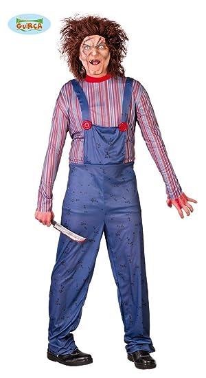 Disfraz para Halloween de Killer Doll para hombre: Amazon.es ...