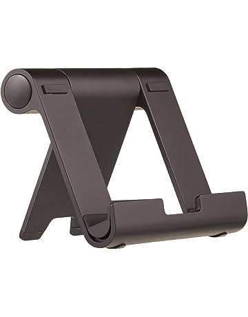 AmazonBasics - Soporte multiángulo portátil para tablets, e-readers y teléfonos - Negro
