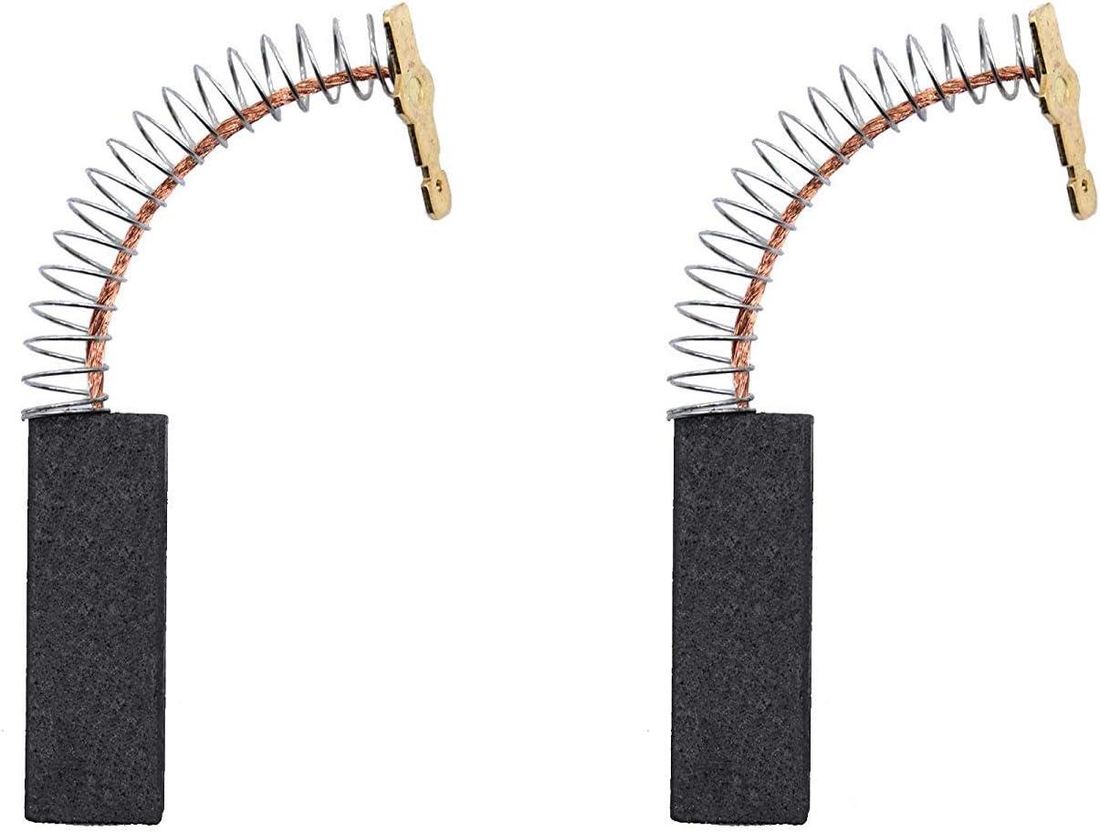 Cepillo de carbón compatible con motor de lavadora Bosch 00154740, repuesto para Bosch Siemens arandela (2 unidades)