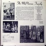 MCPHERSON GAMILY COUNTRY GOSPEL vinyl record