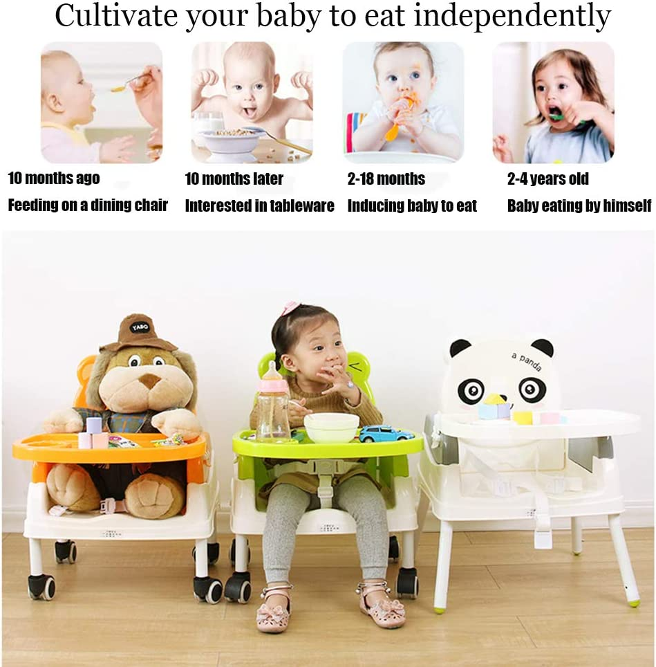 YXB Portable Baby Seat Baby Dinner Table Multifunction