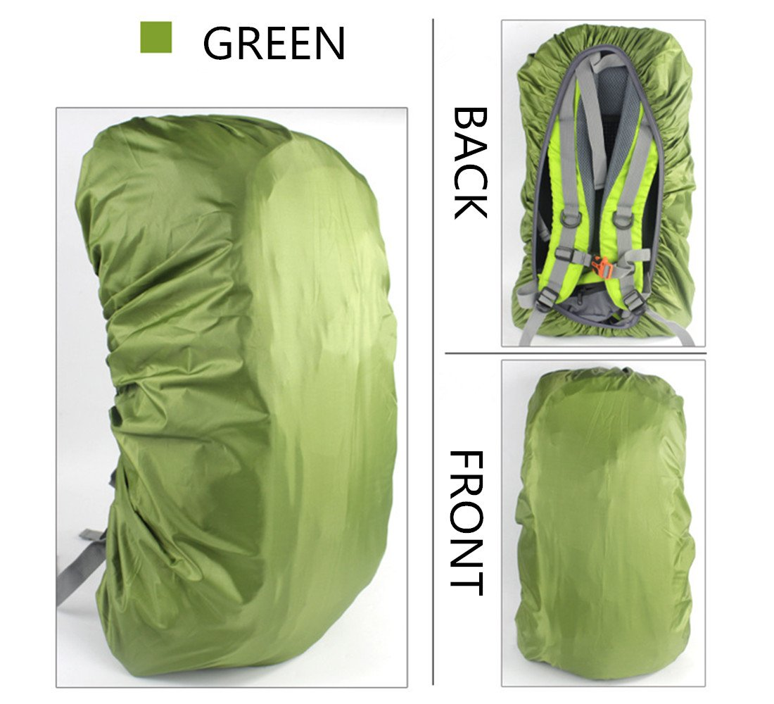 KWLET Backpack Cover Waterproof Portable Rainproof Bag Cover Protector Cover for Hiking//Camping//Traveling
