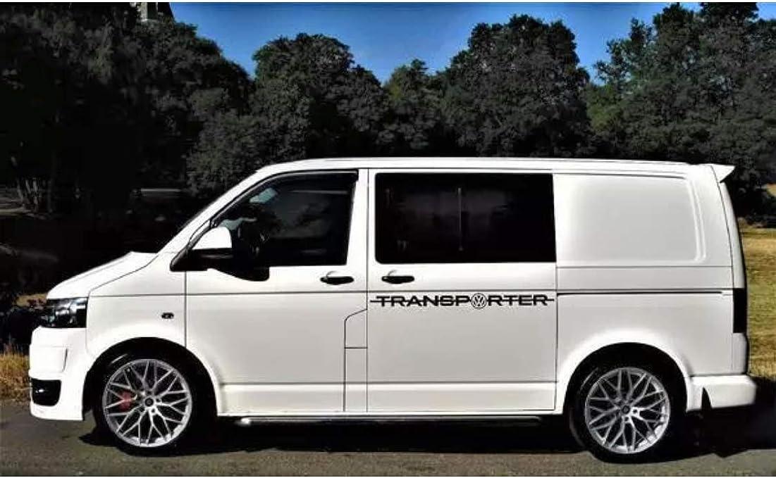 TSG Pegatinas para Volkswagen Transporter T4 T5 T6, Rayas Laterales, para Volkswagen: Amazon.es: Coche y moto