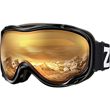 101b24c34df ZIONOR Lagopus Ski Snowboard Goggles UV Protection Anti-Fog Snow Goggles  for Men Women Youth  Amazon.ca  Sports   Outdoors