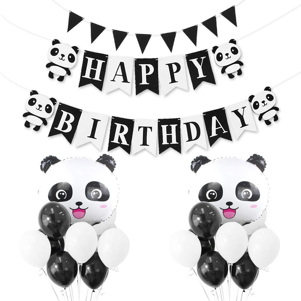Decoraciones De Cumpleanos De Panda Nada Mas Adorable Que Un Panda