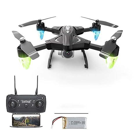 AIUYER Drone GPS Cámara 1080P HD WiFi con Quadcopter Follow Me ...