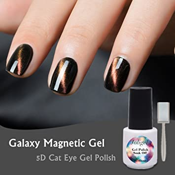 Amazon Com Joligel Magnetic Galaxy Gel Nail Polish 5d Cat