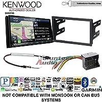 Volunteer Audio Kenwood DNX874S Double Din Radio Install Kit with GPS Navigation Apple CarPlay Android Auto Fits 2003-2005 Volkswagen Golf, Jetta, Passat
