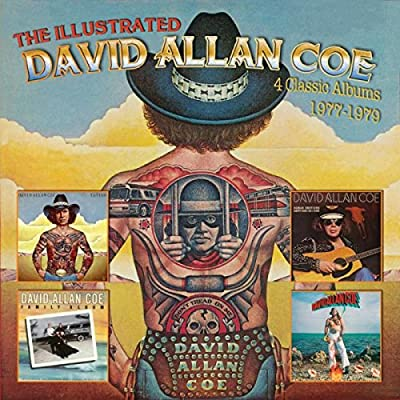 Illustrated David Allan Coe: 4 Classic Albums 1977-1979,The: David Allan Coe : Amazon.es: Música
