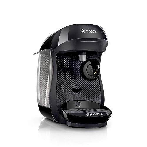 Bosch TAS1002 Tassimo Happy Cafetera Monodosis Multibebida 1400 W 0 7 litros Plástico Negro