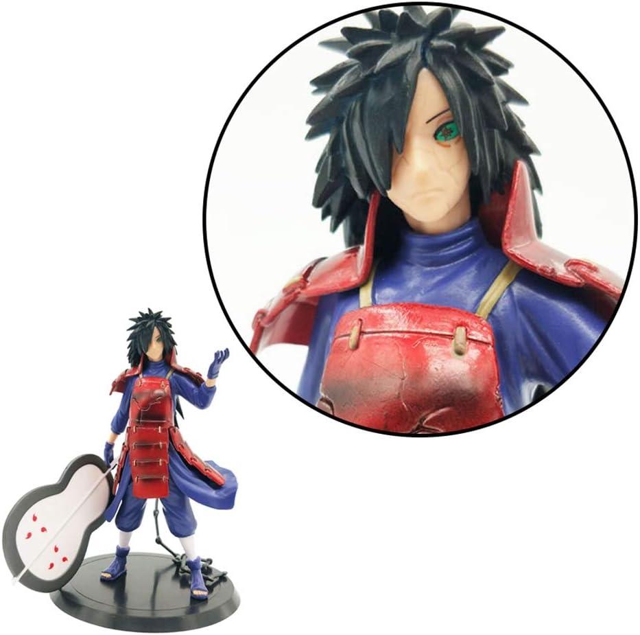 PVC Modell Spielzeug Naruto Shippuden Statue Actionfigur Sammelfigur Geschenk f/ür Anime Fans 10cm Q Ver Uchiha Sasuke SGOT Naruto Figur