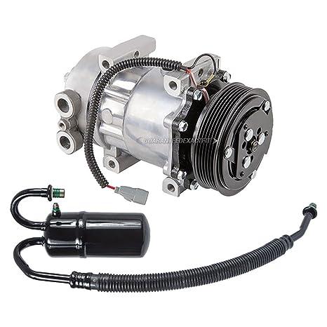 Premium calidad nueva AC Compresor y embrague con a/c secador para Dodge Dakota –