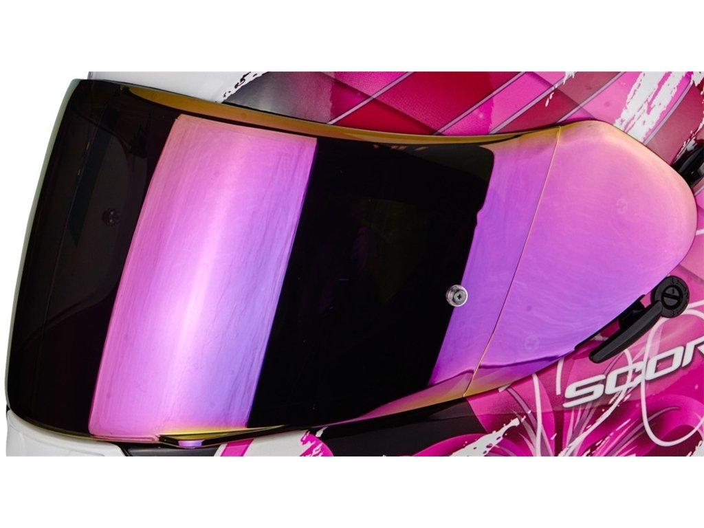 SCORPION VISIERA per EXO 2000 1200 710 510 410 390 AIR BLU A SPECCHIO tear-off
