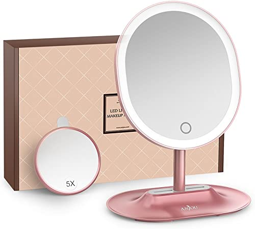 Anjou Makeup Mirror Rechargeable LED Lighted