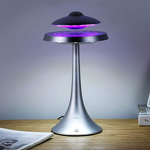 Magnetic Levitating Floating Breathing Night Light Bluetooth