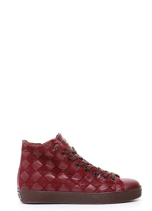 Leather Crown Zapatillas Para Mujer Granate It - Marke Größe, Color, Talla 38 IT - Marke Größe 38: Amazon.es: Zapatos y complementos