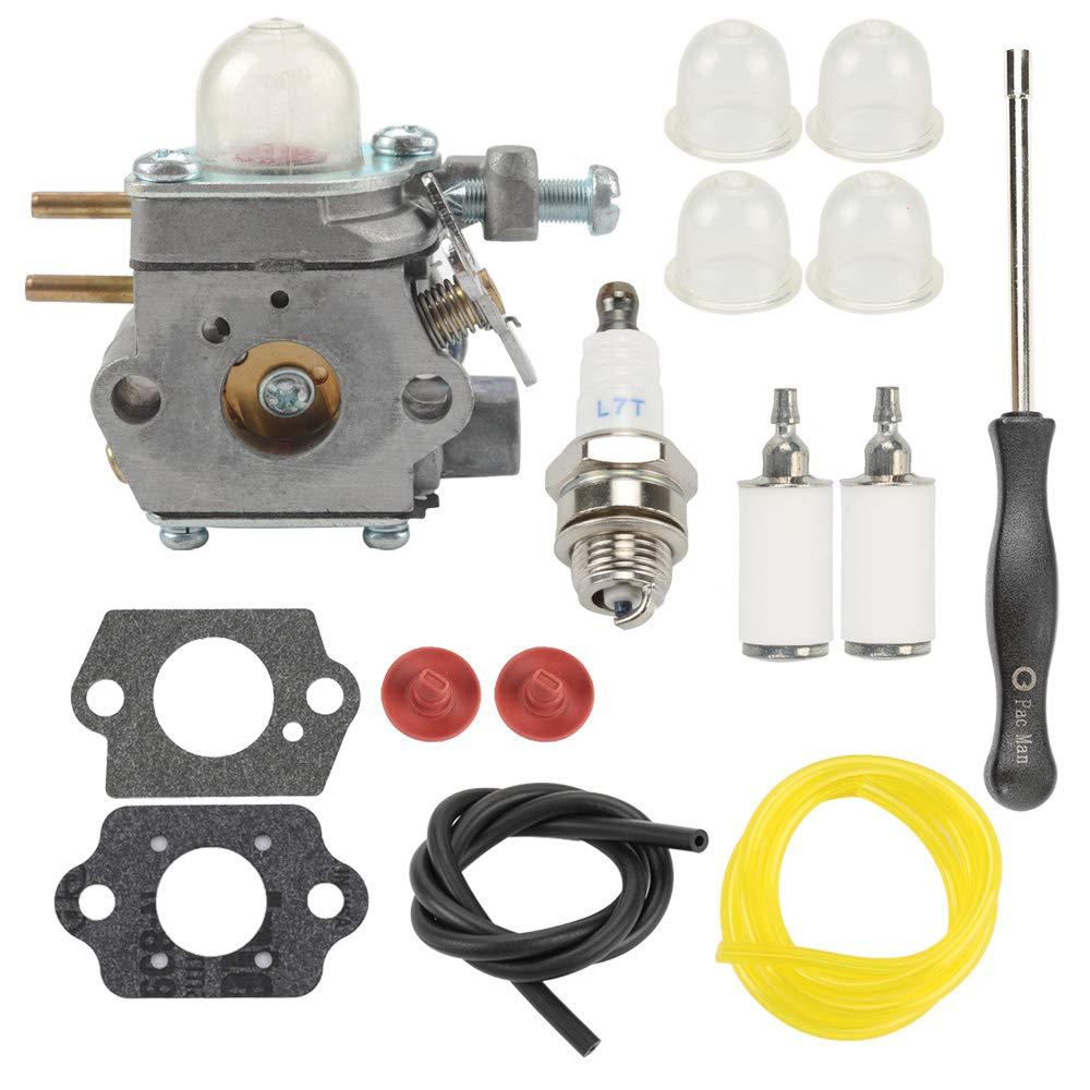753-06190 Carburetor for Walbro # WT-973 Troy-bilt TB2040XP TB21EC TB22EC TB32EC TB42BC TB80EC Yard Man YM71SS MTD M2500 M2510 by Panari