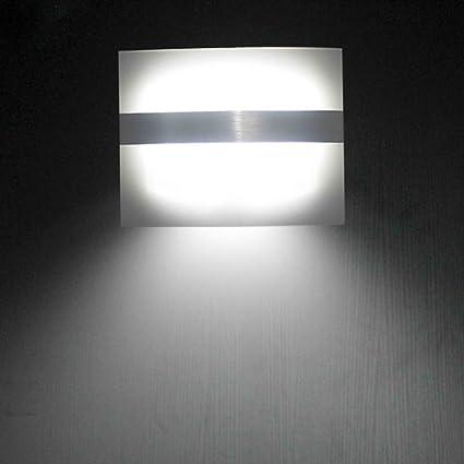 XKTTSUEERCRR LED Luces con Sensor de Movimiento Funciona con Pilas para Pared Patio Camino de Entrada