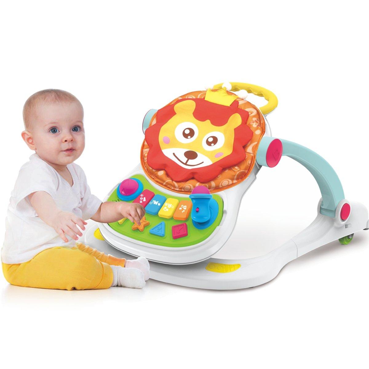 4 en 1 bebé Andador Centro de juegos Baby Walker: Amazon.es: Bebé