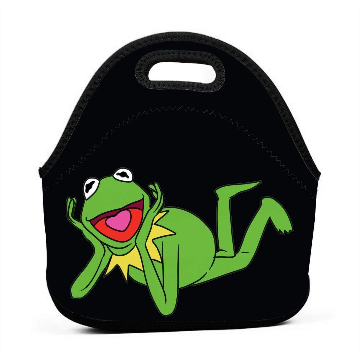 atopking Leichte isolierte Mittagessen-Neopren-Einkaufstasche Kermit der Frosch