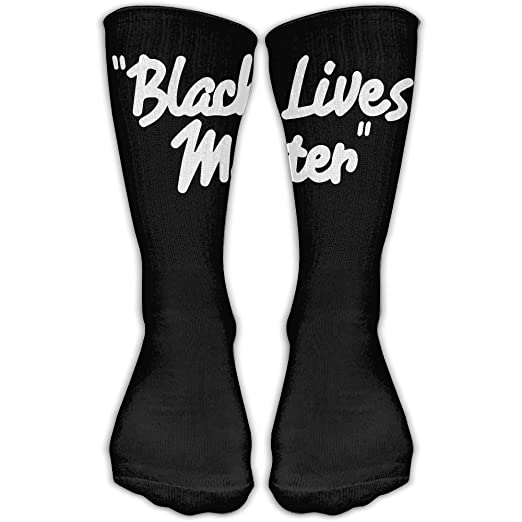 fd3adbe831e Image Unavailable. Image not available for. Color  Black Lives Matter Personalized  Socks ...