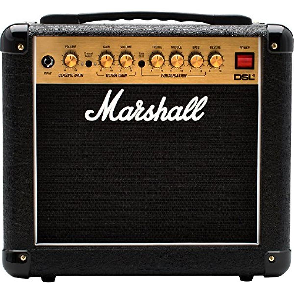 [해외] 마샬 MARSHALL 기타 앰프 콤보 1W DSL1C 마샬 톤을 콤팩트에 포터블인 사이즈에 응축 에뮤레토회로 부착 헤드폰 출력 홈 유스로 최적