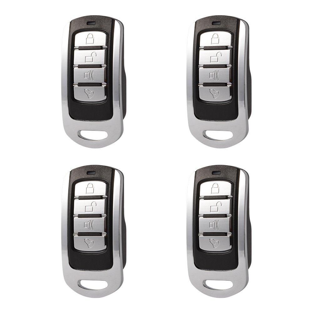 XCSOURCE® 4Stk 868Mhz Klonen Fernbedienung Schlüssel Kopieren Klonen Duplicator Öffner Fob für elektrische Tor Garage Tür HS928