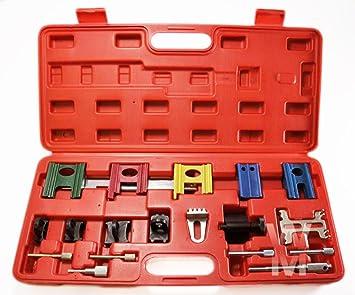 19 Motor Universal Cronómetro Cierre Juego De Herramientas Doble Árbol de Levas La Correa De Distribución Kit: Amazon.es: Coche y moto