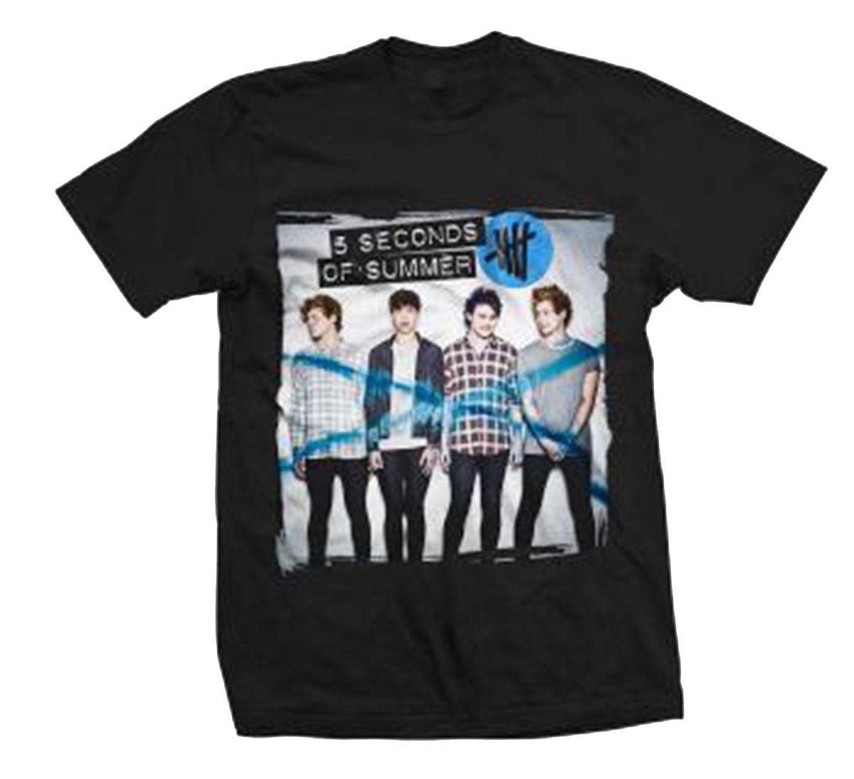 Bravado 5 Seconds of Summer Album Shirt 11 T-shirt-small