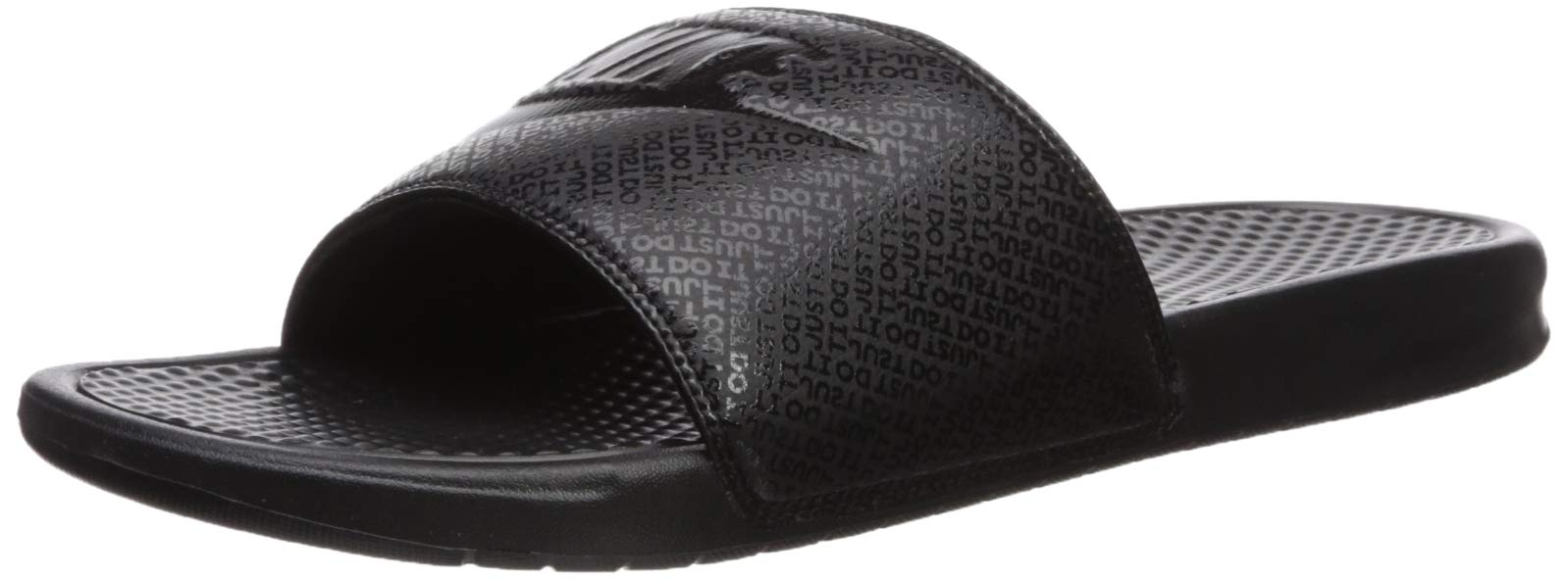 Nike Men's Benassi Just Do It Athletic Sandal, Black, 11 D(M) US by Nike