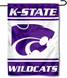 College Flags & Banners Co. Kansas State Wildcats Garden Flag