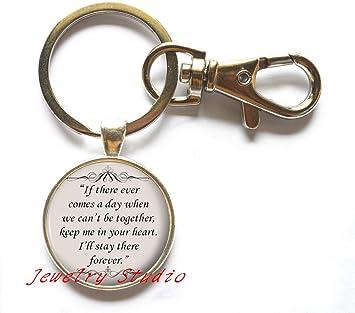 com charming fashion keychain,friends gift idea silver