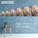 FIXSMITH Painting Canvas Panel Boards - 5x7 Inch