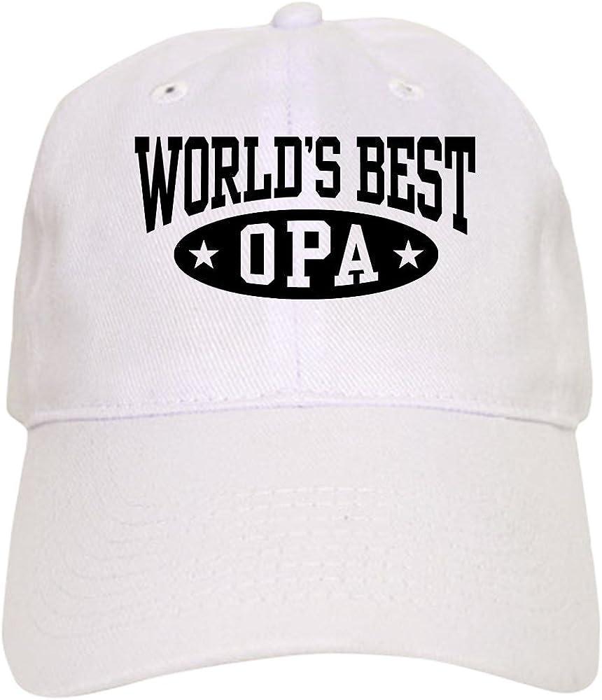 CafePress Worlds Best Opa Baseball Cap
