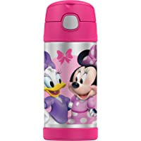 Thermos FUNtainer Vacuum Insulated Drink Bottle, 355ml, Disney Minnie Mouse, F4017MM6AUS