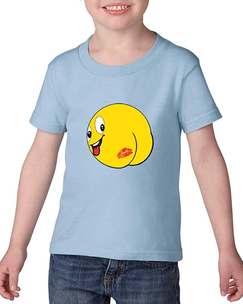 Expression Tees Emoticon Butt Kiss Mens T-Shirt
