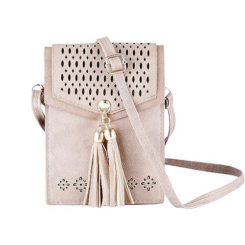 71ee64bd1e5 Amazon.com: Women Mini Crossbody Bags Casual Shoulder Bag Small PU ...