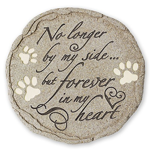 Cat or Dog Grave Marker or Garden Memorial Stone. Thoughtful Pet Loss Sympathy Gift. Waterproof and Weatherproof, Can Be…