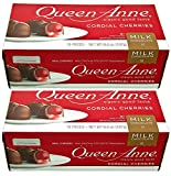 Queen Anne Cordial Cherries, Milk Chocolate-covered, 6.6 Ounces (10 Count Box, Pack of 2)