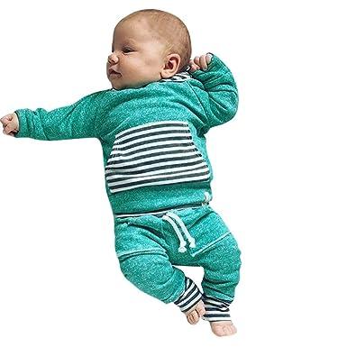 YanHoo Conjuntos de Ropa para bebés niño Traje de otoño e ...