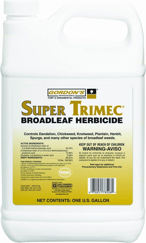 Amazon Com Pbi Gorden Super Trimec Herbicide Weed Killers Computers Accessories