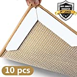 #4: Rug Grippers, Anti Curling Non Slip Rug Gripper, Keep Your Rugs In Place & Makes Corners Flat,Premium Carpet Gripper with Renewable Gripper Tape, Best Alternative Anti Slip Rug Pad-Sold By P-JING