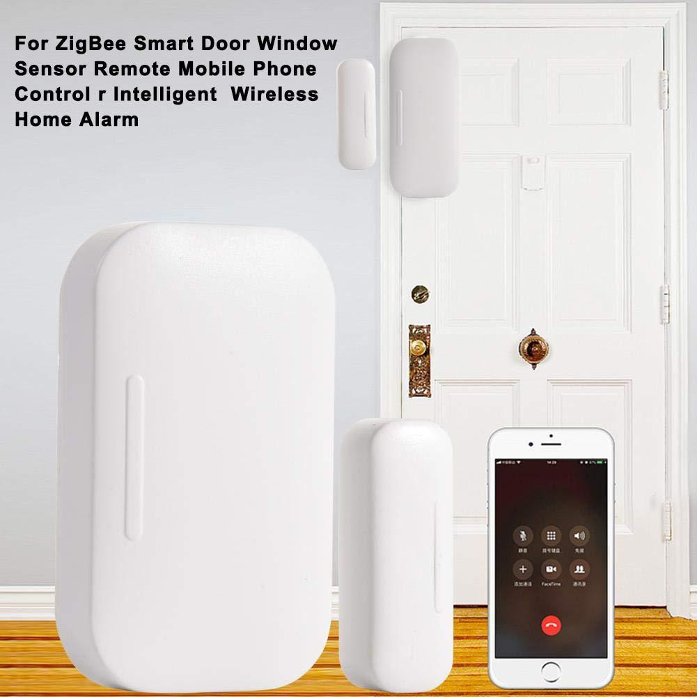 for ZigBee Smart Door/&Window Sensor Wireless Remote Control Intelligent Home Alarm
