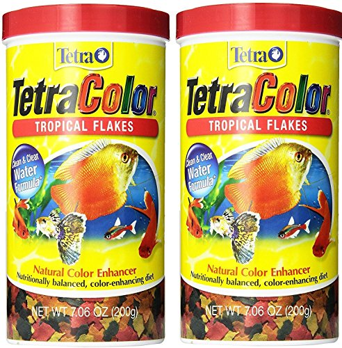 TetraColor Tropical Flakes xZDVeS, 2Pack (7.06-Ounce) ()