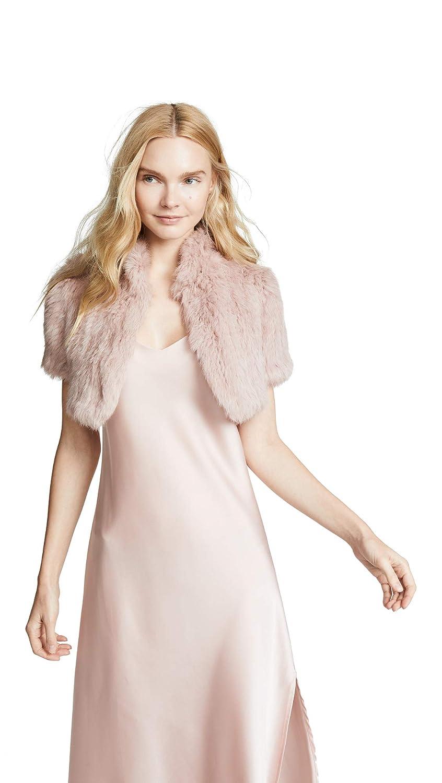 Jocelyn Womens Felicity Rabbit Fur Shrug Jocelyn-Women/'s