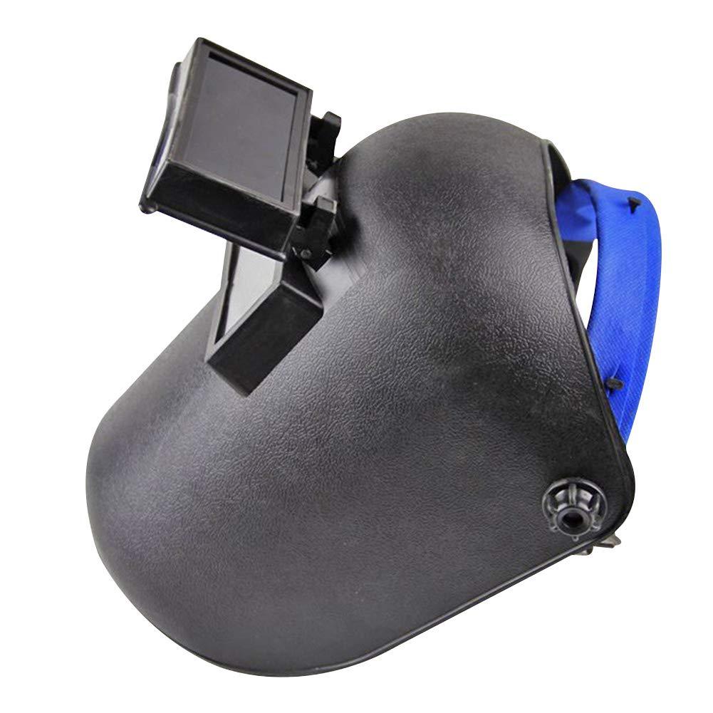 Maschera saldatore, display regolabile ARC saldatori saldatura Headshield casco maschera resistente ai raggi UV Lens Eye casco GEZICHTA