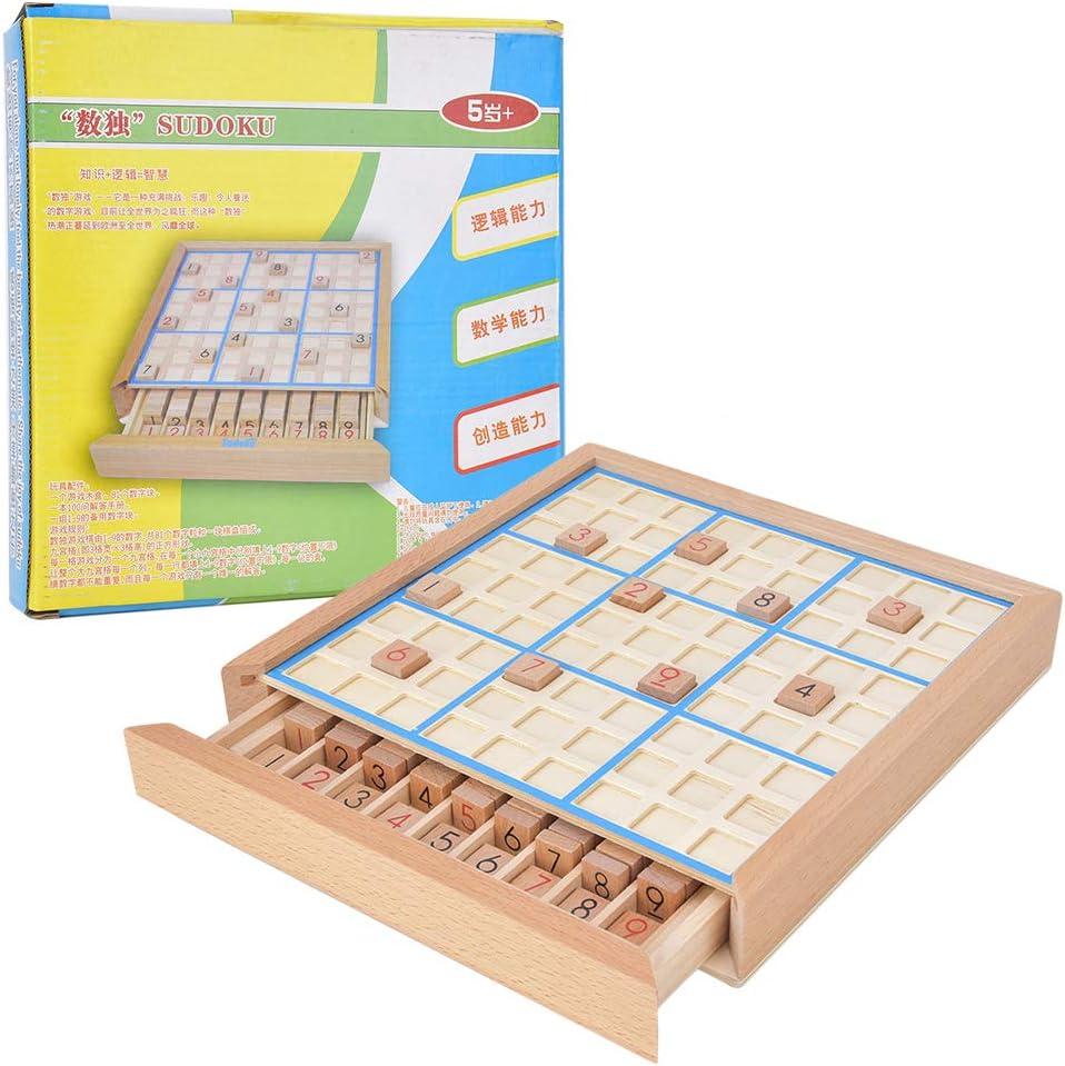 Cerco componente golf  Zerodis Tablero de Juego de Sudoku de Madera, Sudoku ajedrez niños  Rompecabezas de números Juguete Entre Padres e Hijos Juguete Educativo  lógico Interactivo para niños Adultos: Amazon.es: Juguetes y juegos