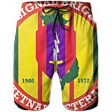 Army Veteran 1st Cavalry Division 3D Print Mens Beach Shorts Swim Trunks Workout Shorts Summer Shorts